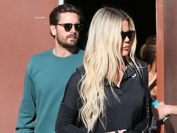 Scott Disick y Khloé Kardashian