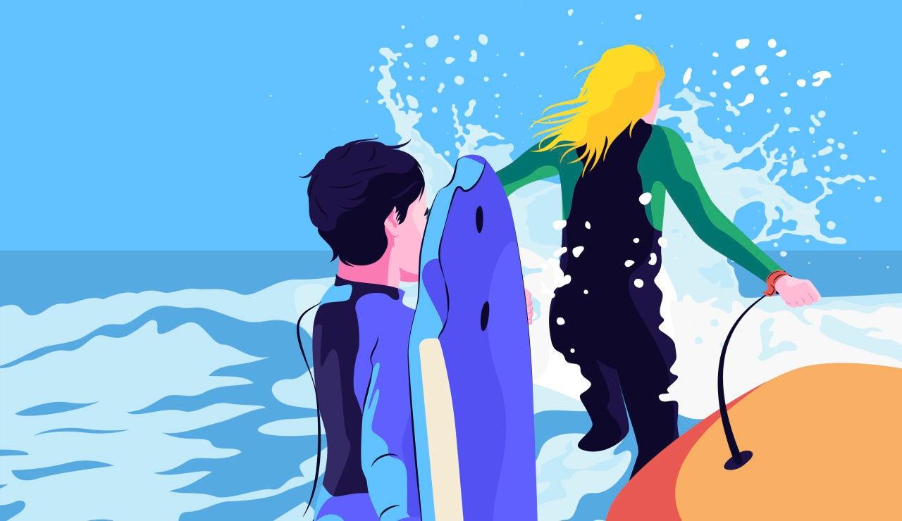Ya puedes leer aquí 'Entre las olas y la arena'