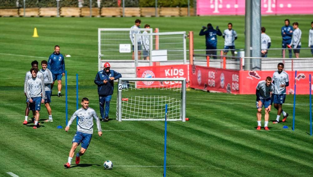 Entrenamiento del Bayern de Múnich