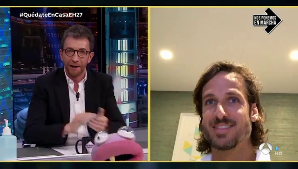 Disfruta de la entrevista completa a Feliciano López en 'El Hormiguero 3.0: Quédate en casa'