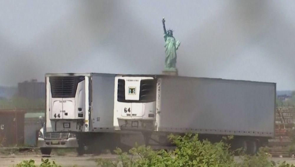 Camiones frigoríficos en Nueva York