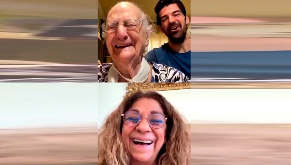 Lolita Flores emociona a una persona muy especial para Miguel Ángel Muñoz con una inolvidable sorpresa
