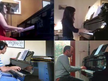 Pianistas de España y Portugal unidos contra el coronavirus