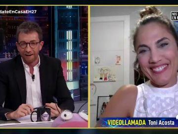 Disfruta de la entrevista completa a Toni Acosta en 'El Hormiguero 3.0: Quédate en casa'