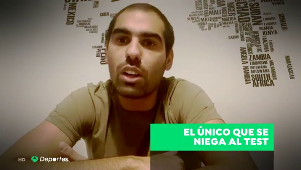 Fali, jugador del Cádiz, se niega a jugar al fútbol por miedo al coronavirus
