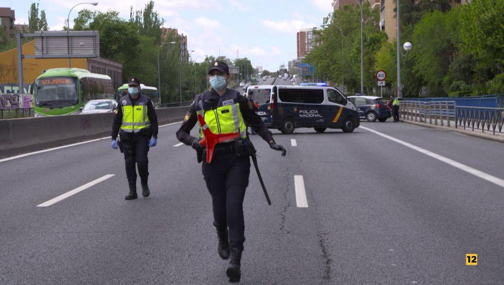 'En primera línea' muestra el trabajo de las Fuerzas y Cuerpos de Seguridad, el miércoles en Antena 3