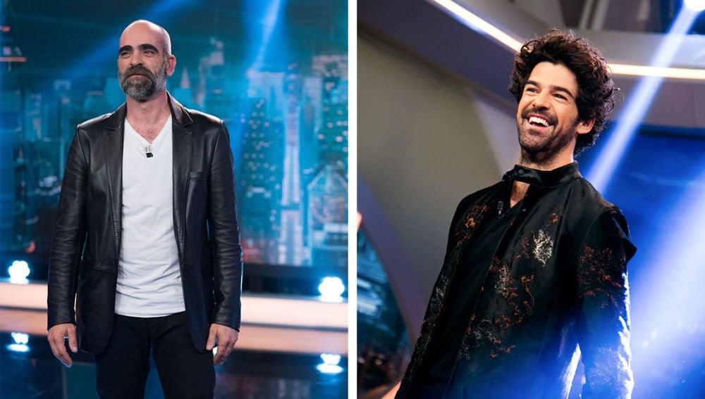 El martes, los actores Miguel Ángel Muñoz y Luis Tosar conectarán en directo con 'El Hormiguero 3.0:quédate en casa'