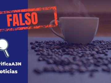 El café no protege frente al coronavirus
