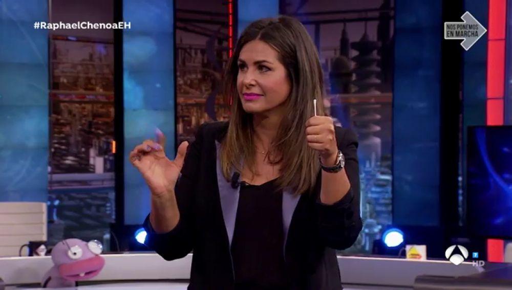 El truco con el que Nuria Roca de convierte de forma oficial en maga de 'El Hormiguero 3.0'