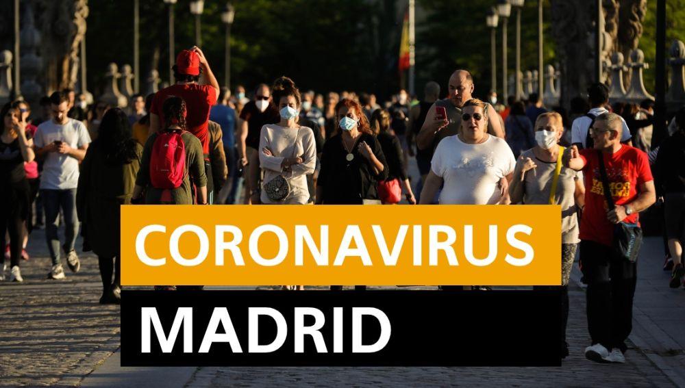 Coronavirus Madrid: Última hora, desescalada y noticias de hoy jueves 7 de mayo, en directo