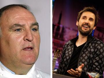 El lunes, el actor Julián López y el chef José Andrés se divertirán en 'El Hormiguero 3.0: quédate en casa'