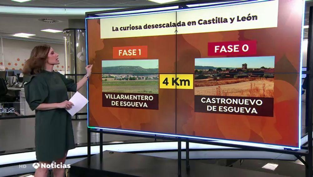 Dos municipios de Valladolid separados por 4 kilómetros no avanzarán por igual en las fases de desescalada del coronaviurs