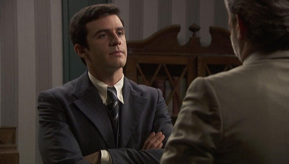 'El secreto de Puente Viejo': Tomás se impone ante Jean Pierre, ¿es el padre de Adolfo?