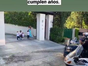 """La sorpresa de la Policía al hijo de Sergio Ramos y Pilar Rubio por su cumpleaños: """"No solo nos protegen"""""""