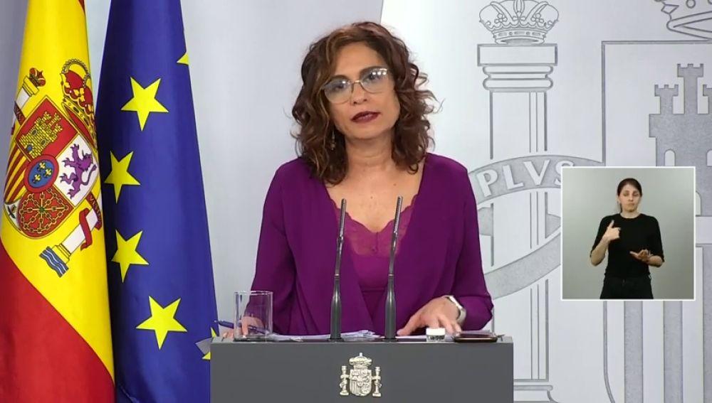 """El Gobierno invita a la oposición a actuar con """"contundencia"""" ante """"hechos que hablan por sí mismos"""" en la Comunidad de Madrid"""