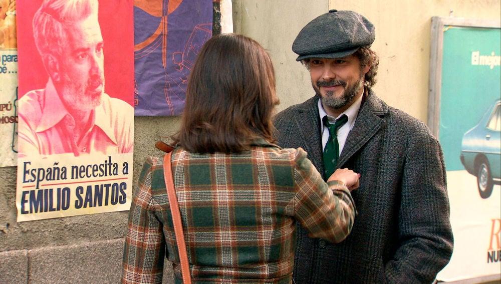 La nostálgica sorpresa de Guillermo para animar a Cristina