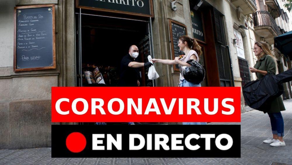 Coronavirus España: Fase 1 de la desescalada y última hora del coronavirus, en directo