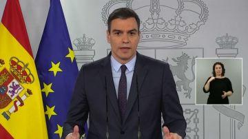 """A3 Noticias Fin de Semana (09-05-20) Pedro Sánchez defiende la decisión sobre el cambio de fase: """"Es un procedimiento reglado"""""""