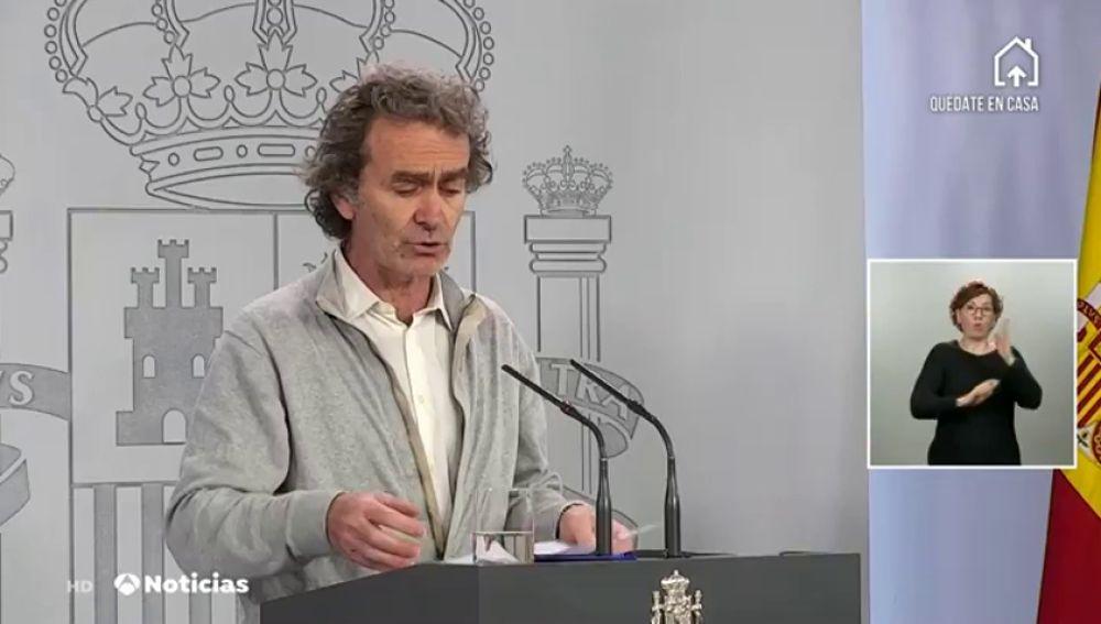 Comparecencia de Fernando Simón sobre el coronavirus hoy domingo 10 de mayo, streaming en directo.