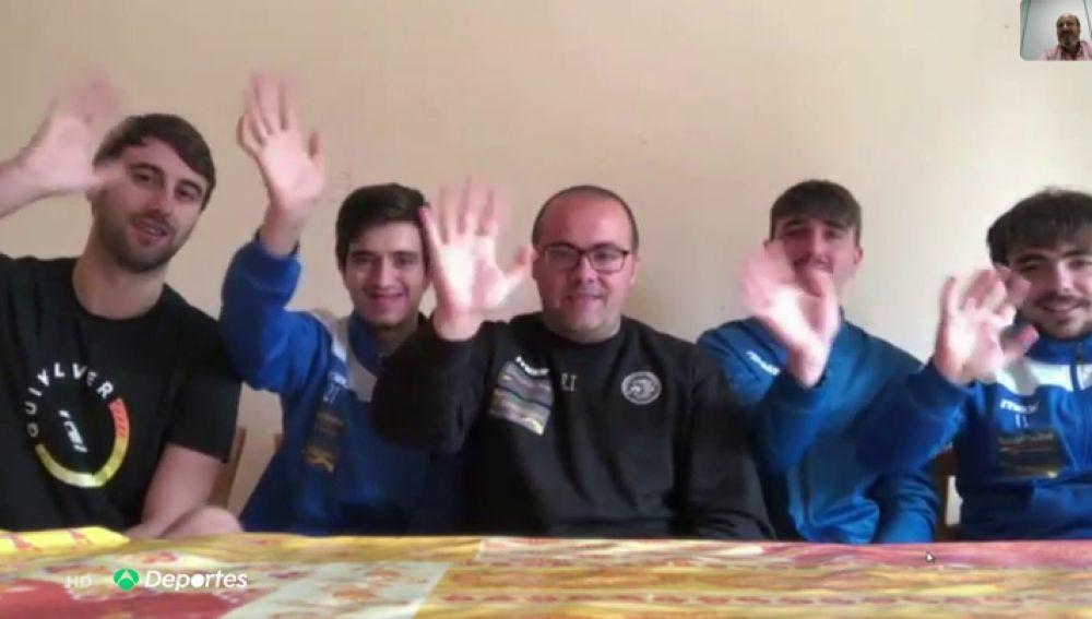 Un entrenador de fútbol sala y cuatro jugadores permanecen confinados por el coronavirus en Sicilia sin poder volver a Cádiz