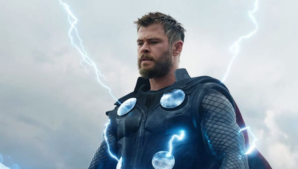 Chris Hemsworth como Thor en Marvel