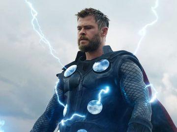 Chris Hemsworth como Thor en Marvel