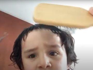 El tutorial del 'niño peluquero'