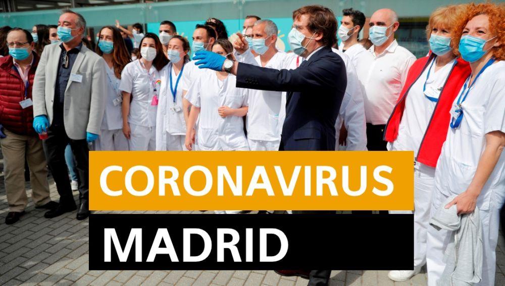 Coronavirus Madrid: Desescalada, datos y noticias de hoy lunes 11 de mayo, en directo