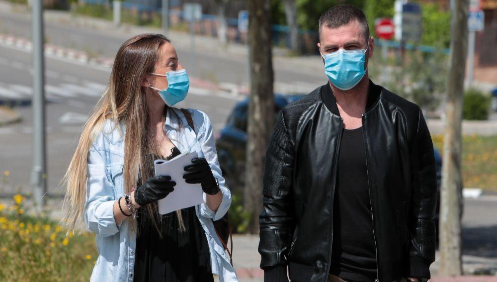 Marta Castro y Fonsi Nieto acuden a una visita ginecológica