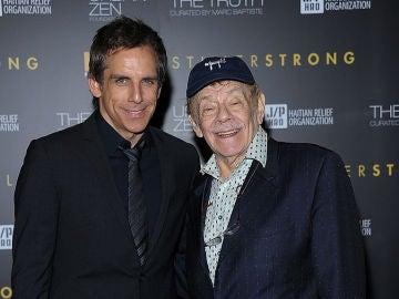 Ben Stiller junto a su padre Jerry Stiller