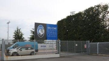 Entrada de la Ciudad Deportiva del Atalanta