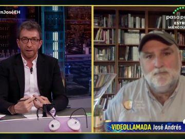 """José Andrés explica la razón de su iniciativa solidaria contra el coronavirus: """"Tenemos una falta de liderazgo mundial muy importante"""""""