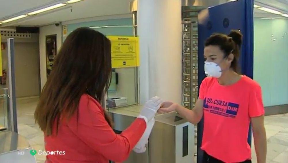 """La nueva realidad de los gimnasios en la desescalada del coronavirus: """"Se cumplen todas las medidas a rajatabla"""""""