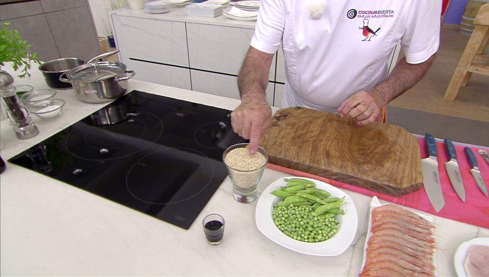 La clave de Karlos Arguiñano para conseguir el punto perfecto de cocción de la quinoa