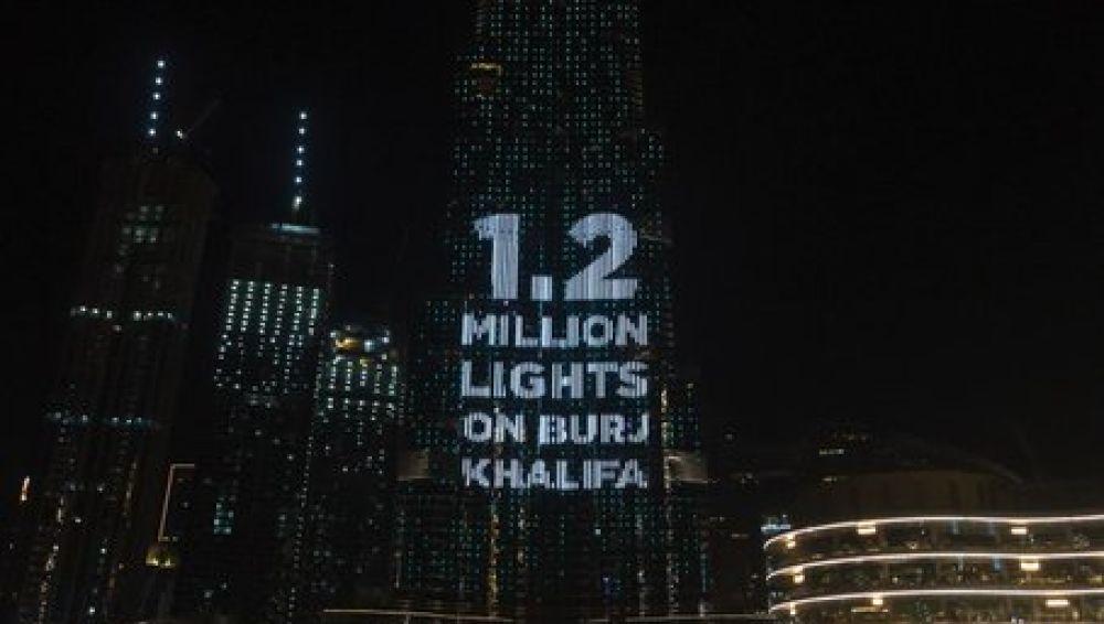 Donaciones Dubái.