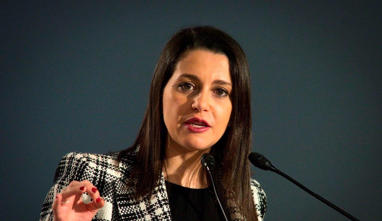 La líder de Ciudadanos, Inés Arrimadas