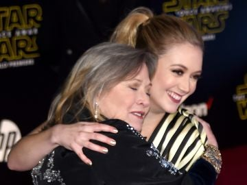 Carrie Fisher y su hija Billie Lourd