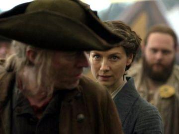 Caitriona Balfe en la temporada 5 de 'Outlander' como Claire Fraser