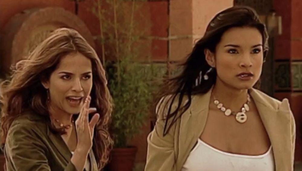 Danna García y Paola Rey en 'Pasión de Gavilanes'