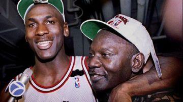 Michael Jordan y su padre, James Jordan