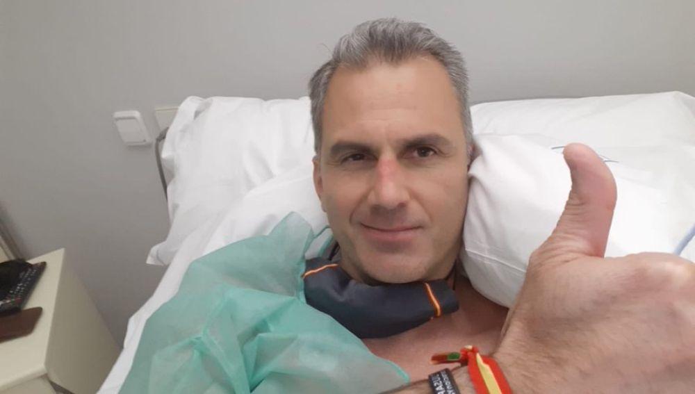Vox: Javier Ortega Smith ingresado de urgencia por varios trombos a consecuencia del coronavirus
