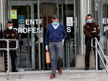 Entrada a los Juzgados de Plaza Castilla en Madrid