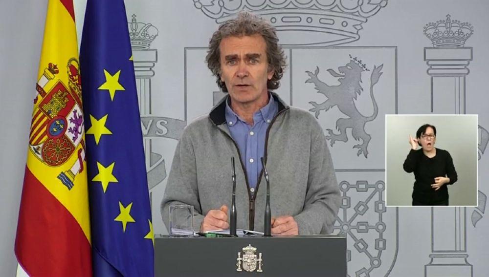 Comparecencia de Fernando Simón hoy miércoles 20 de mayo