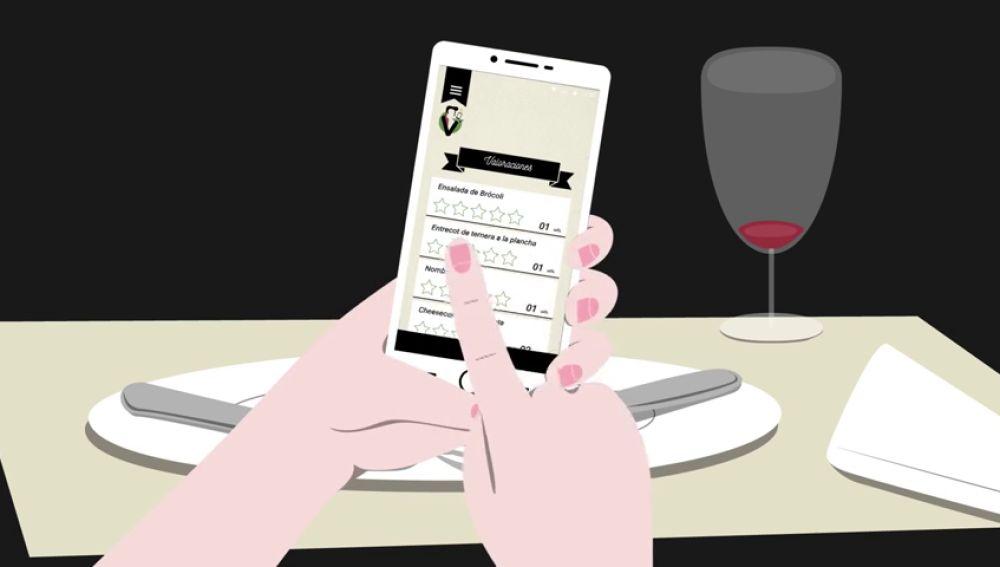 Pedir la comida o la cuenta desde tu mesa con 'Sírveme', una app para reducir los contactos sociales por el coronavirus
