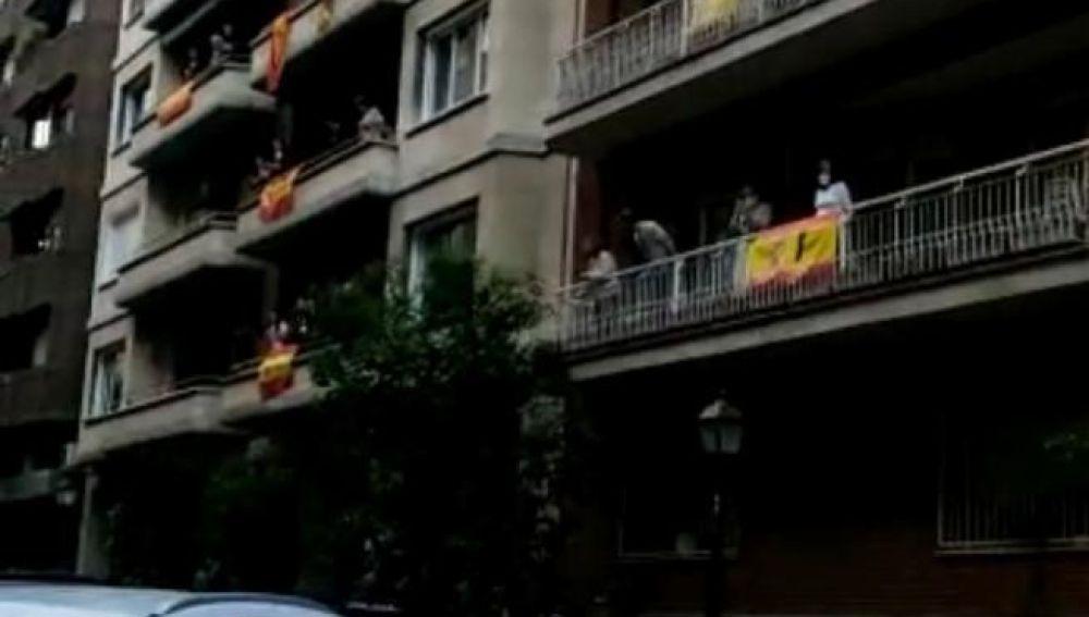 Cacerolada Barrio de Salamanca