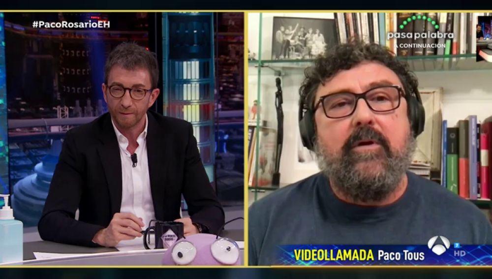 Paco Tous desescalada