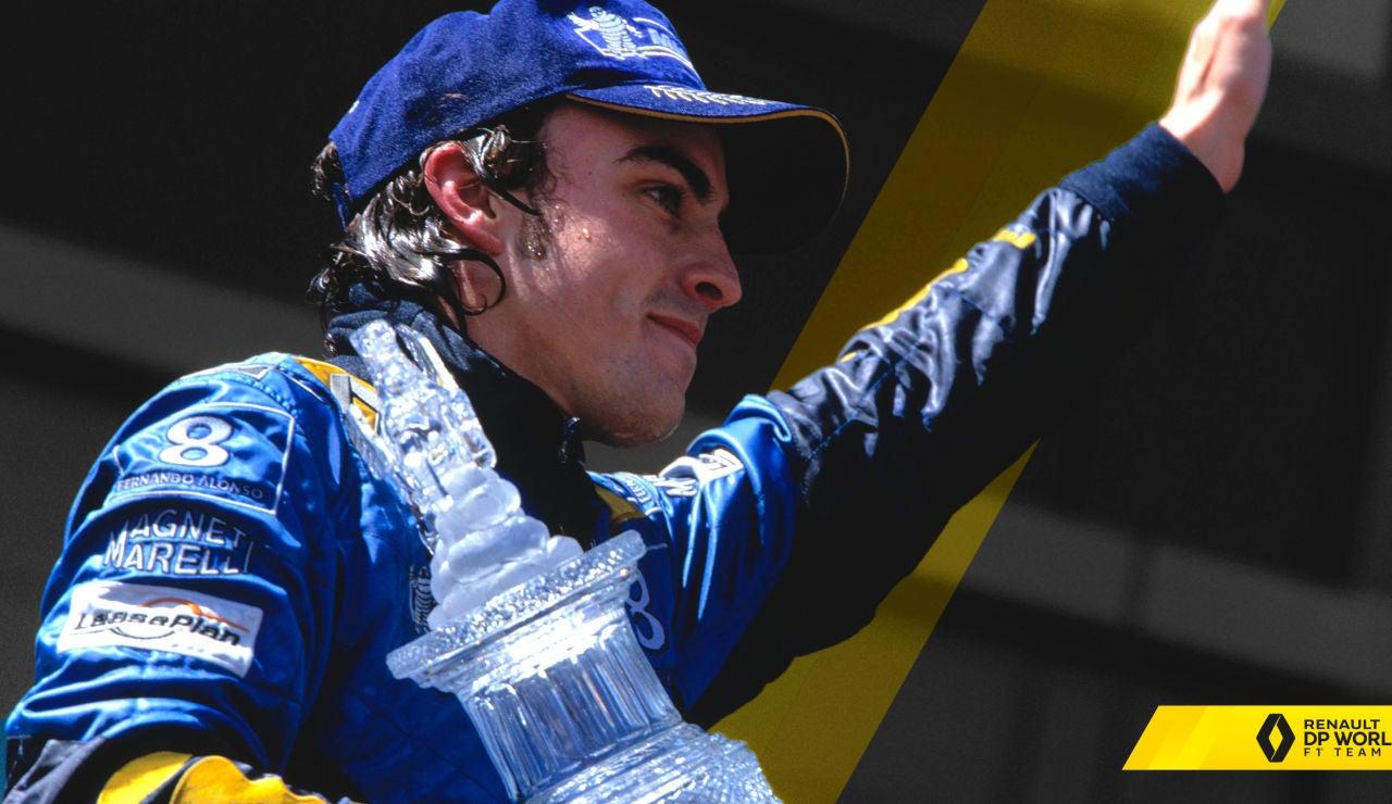 Fernando Alonso con Renault
