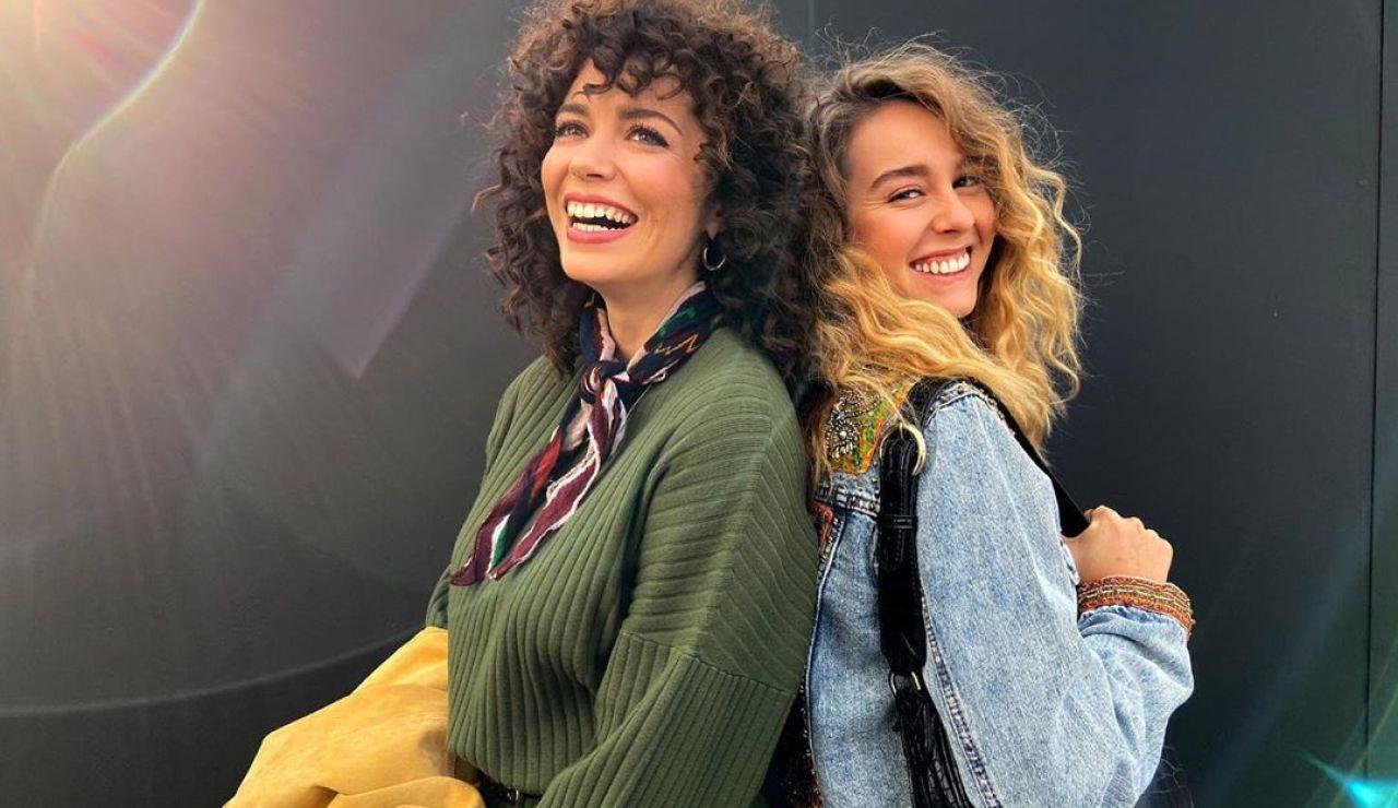 Amelia y Luisita en #Luimelia