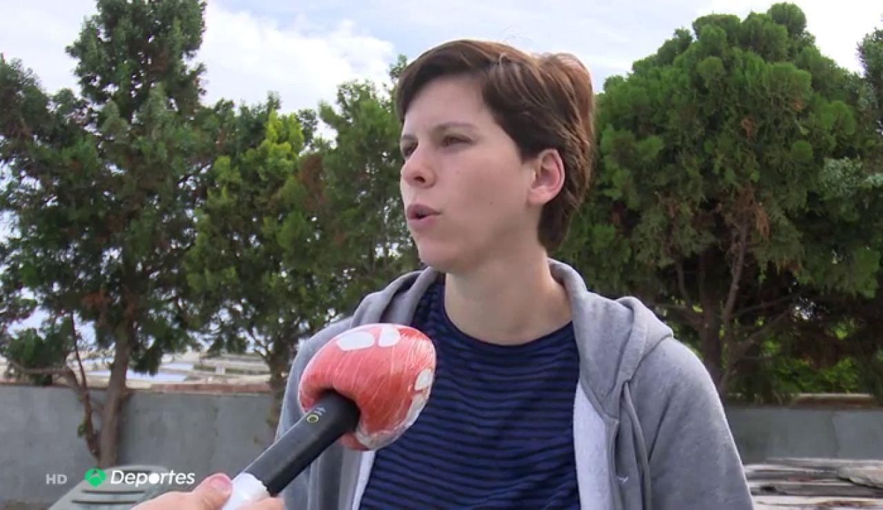 """Patricia Cabrera, jugador del Baxi Ferrol que viajó en el polémico vuelo Madrid-Gran Canaria: """"Fue increíble en las circunstancias en las que estamos"""""""