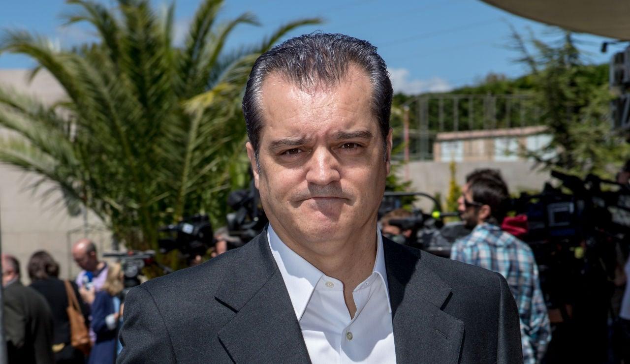El presentador Ramón García